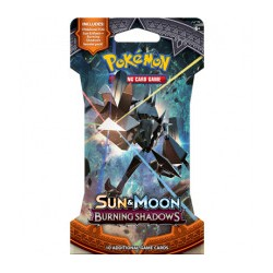 POK TCG Sun & Moon Burning Shadows Booster